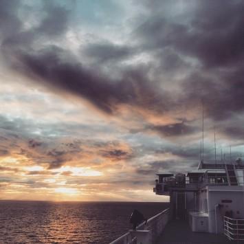 mvkennicott sunset latergram fairfaxtofairbanks