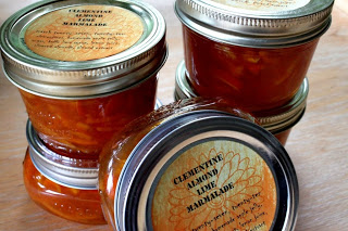 Clementine Almond Lime Marmalade || Hitchhiking to Heaven