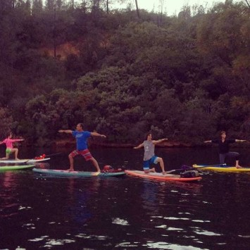 So I did this crazy great thing onwateryoga at Whiskeytownhellip