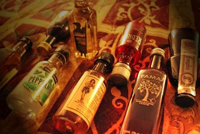 Mini Booze Bottles