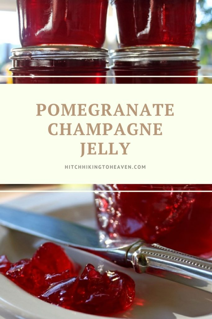 Pomegranate Champagne Jelly | Hitchhiking to Heaven