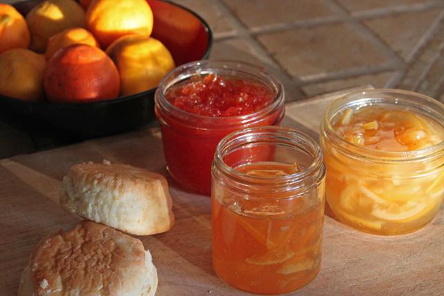 Three Marmalades