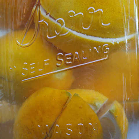 Vietnamese Preserved Lemons -- Chanh Muoi