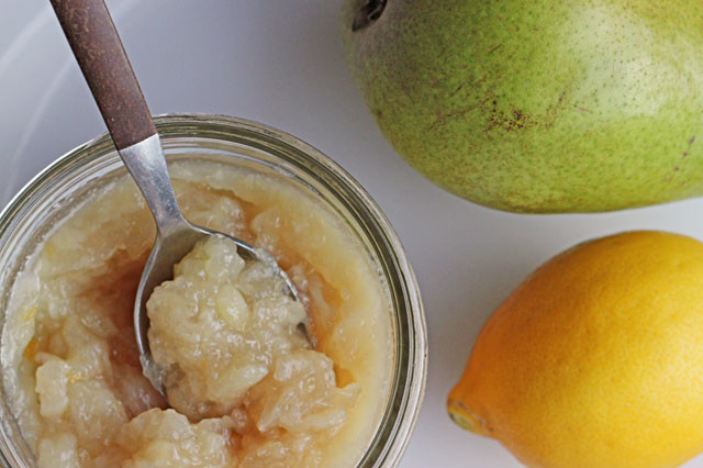 Sugar Free Pear Lemon Jam || Hitchhiking to Heaven