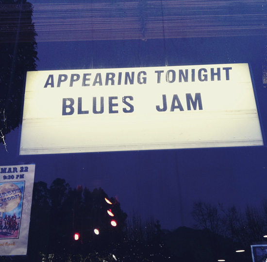 Appearing Tonight: Blues Jam