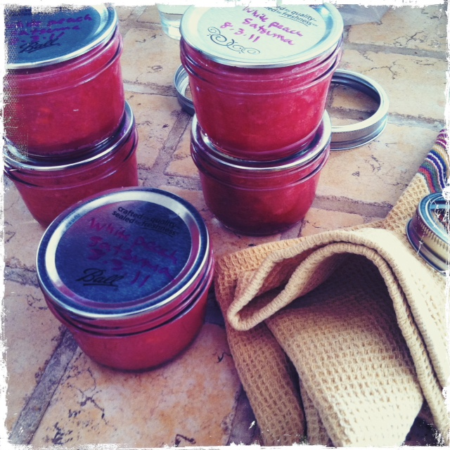 Peach and Plum Jam || Hitchhiking to Heaven