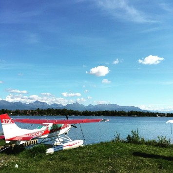Quick tour of Anchorage including the Lake Hood Seaplane Basehellip
