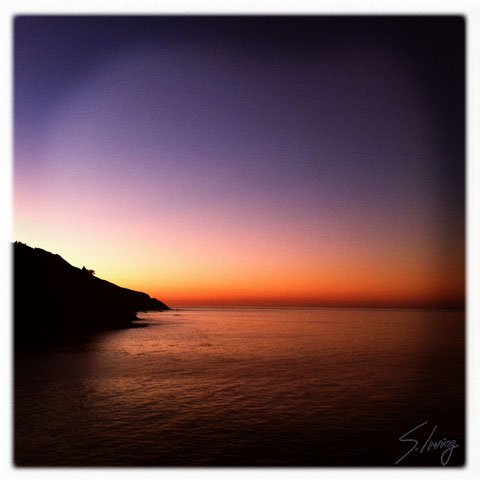 Sunrise, Big Sur Coast