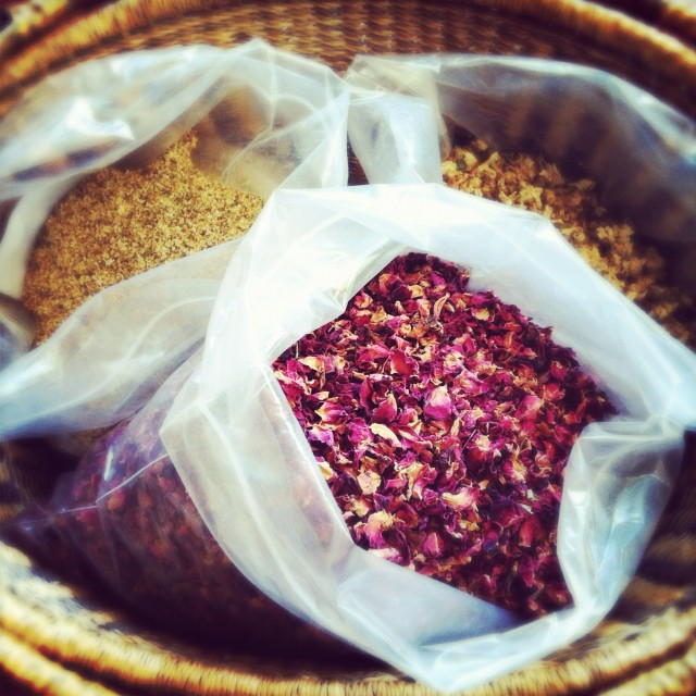 Dried Elderflowers, Rose Petals, and Jasmine Blossoms | Hitchhiking to Heaven