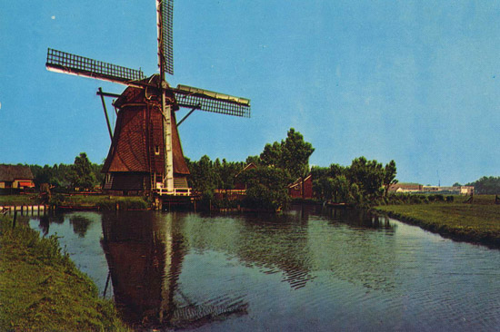 holland_windmill_postcard