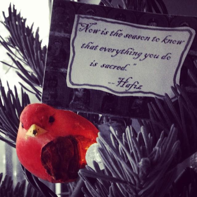 Christmas Tree Cardinal