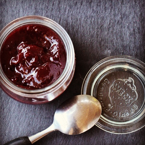 Plum Butter with Orange and Honey
