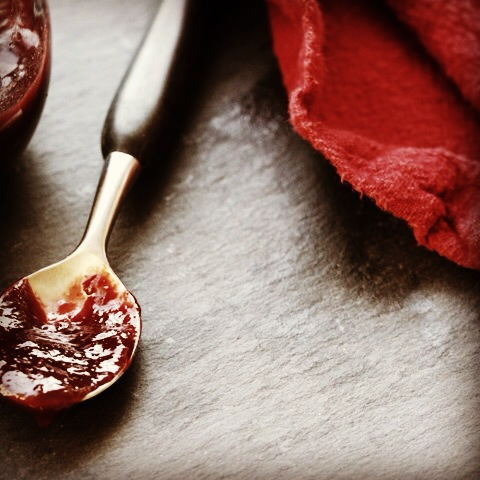 Plum Butter Sweetened with Honey