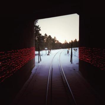 GrandCanyonRailway train tunnel