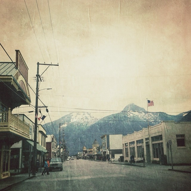 Quick side-trip to Skagway