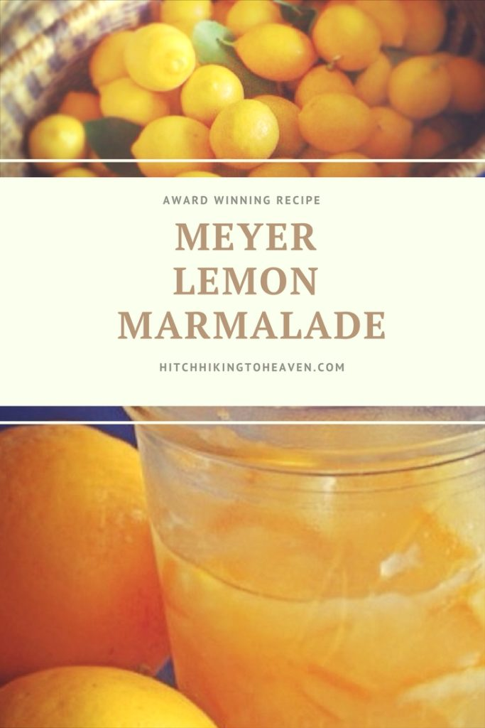 Meyer Lemon Marmalade | Hitchhiking to Heaven